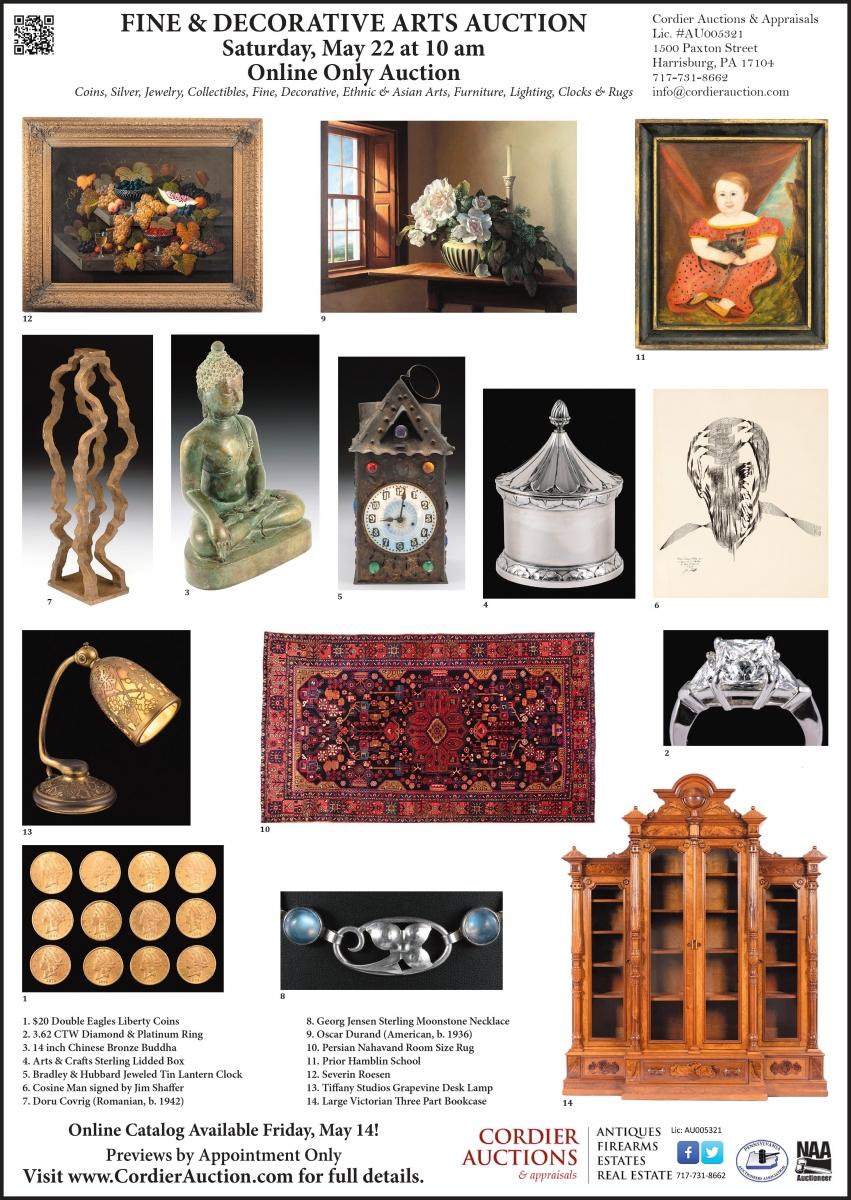 Fine & Decorative Arts Auction | Cordier Auctions & Appraisals