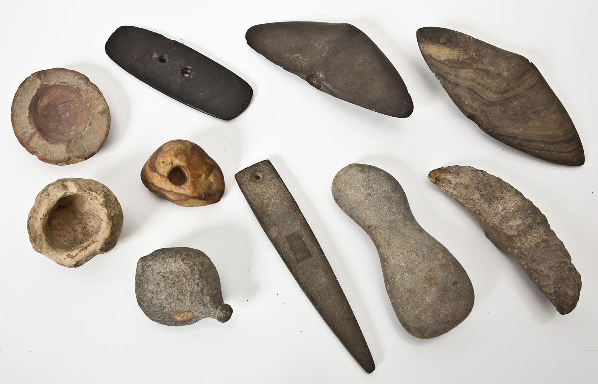 10 Native American Stone Tools ($2,500)