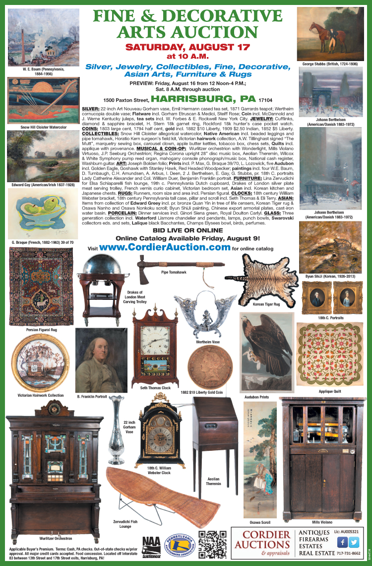 Fine & Decorative Arts August 17