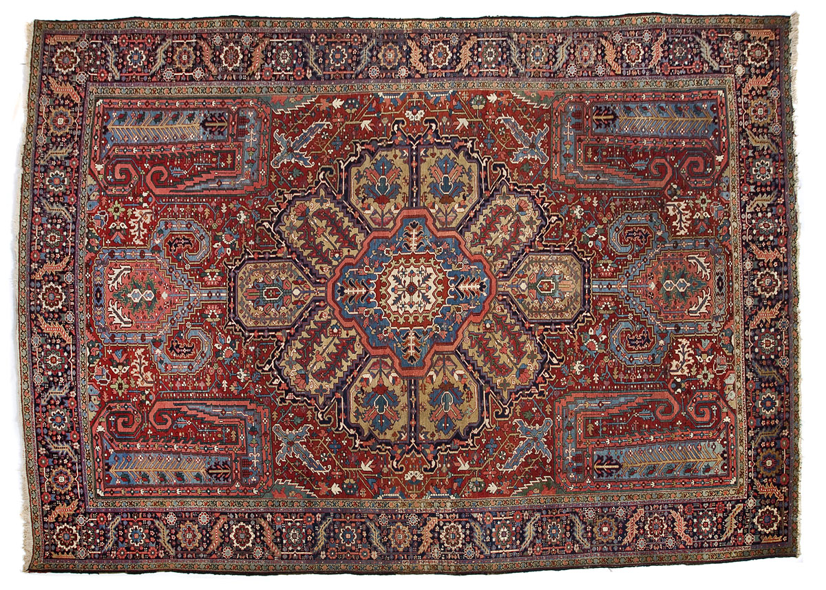 Antique Persian Serapi Rug - $3,400