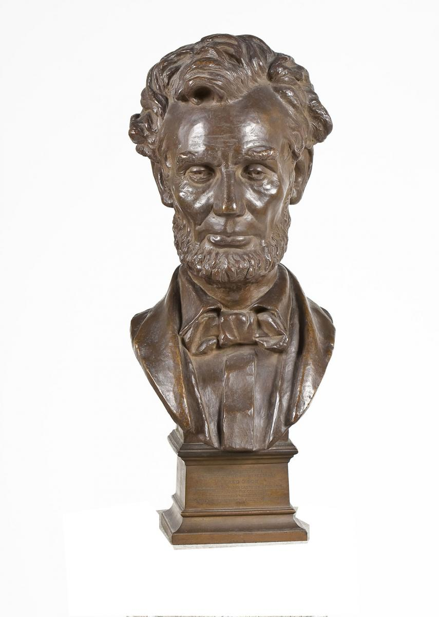 Bust of Lincoln by George Bissell (4,000-6,000)