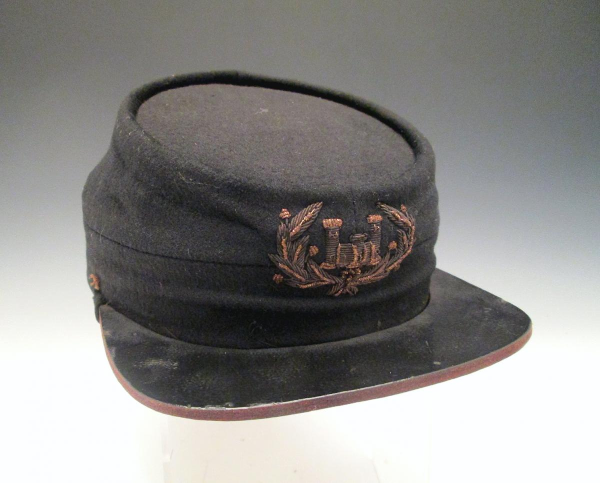 Civil War Era Engineer's Kepi ($400-$600)