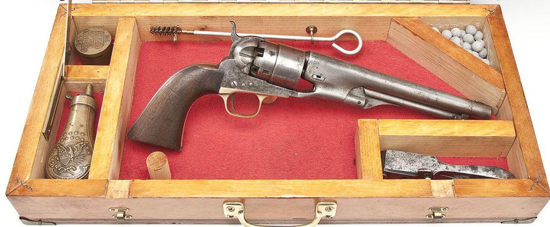 Colt 1860 Army Revolver - Sold $1,600