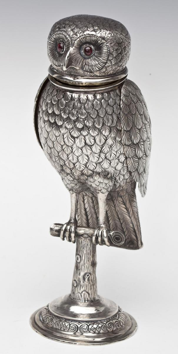 Continental Sterling Owl Vessel - $1,800