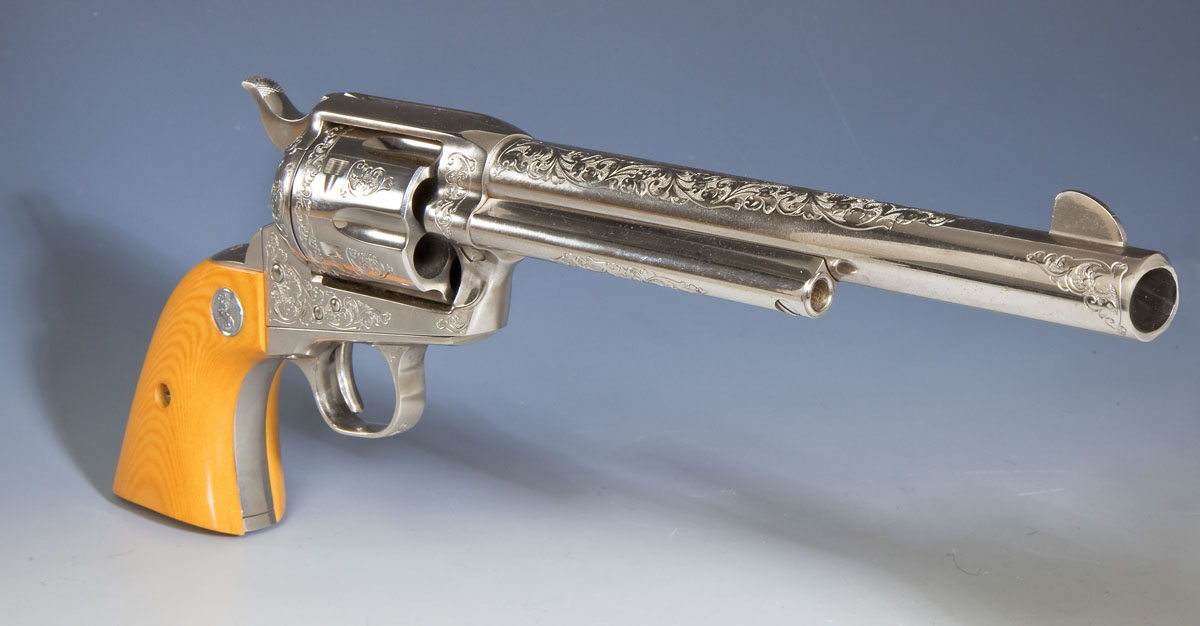Factory Engraved Colt 3rd Generation SA Army Revolver - ($2,000-$3,000)