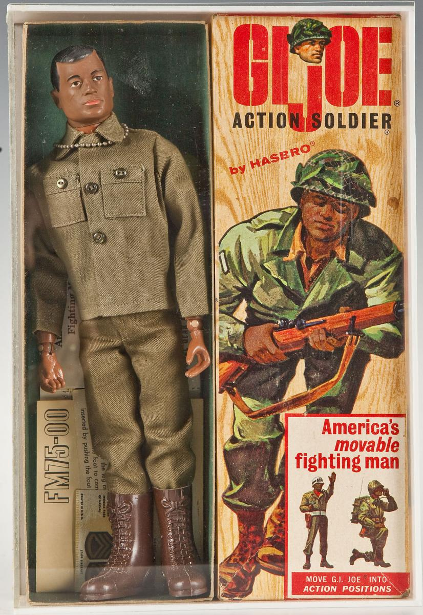 GI Joe Black Action Soldier