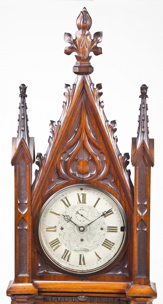 Gothic Tall Case Clock ($4,100)