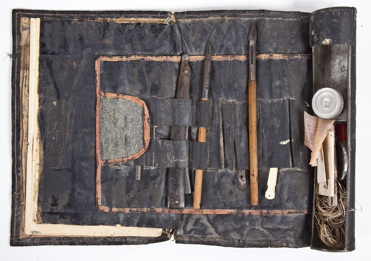 ID'd Civil War Personal Writing Case - Sold $1,600