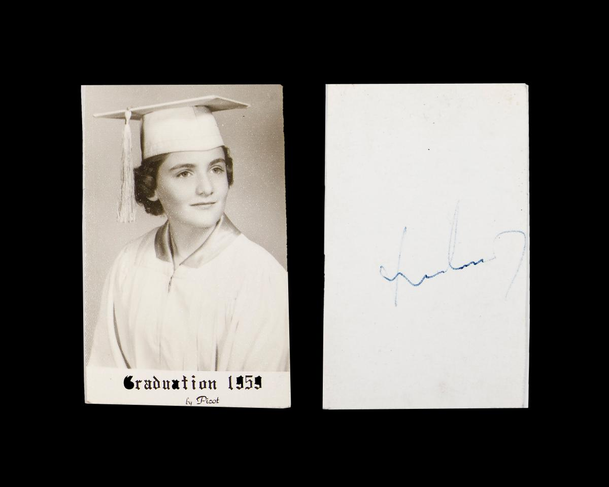 Isabel Ann Heath's Photo Autographed by JFK (2)