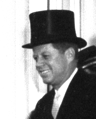 John F. Kennedy at Inaugural Activities January 20, 1961