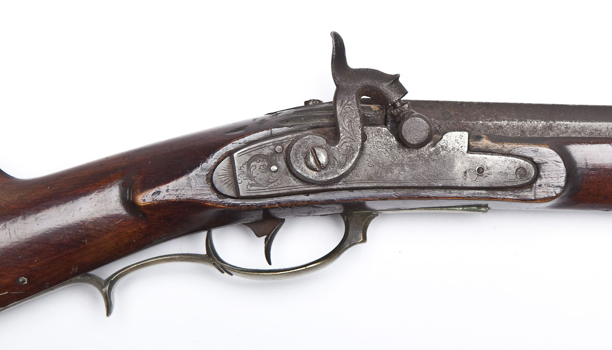 John Moll Signed Kentucky Rifle - $4,100