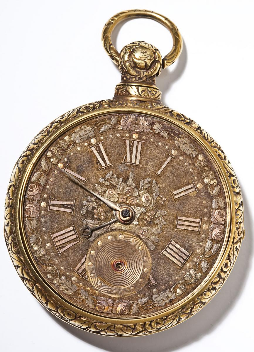 Joseph Johnson Liverpool 18K Fusee Pocket Watch - $1,700