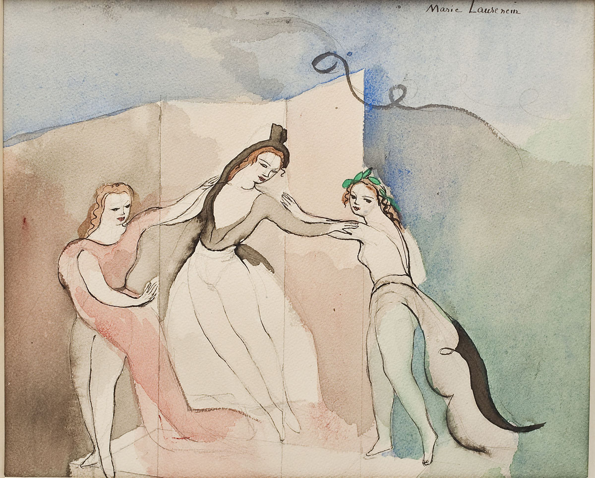 Marie Laurencin (French, 1883-1956) ($3,400)