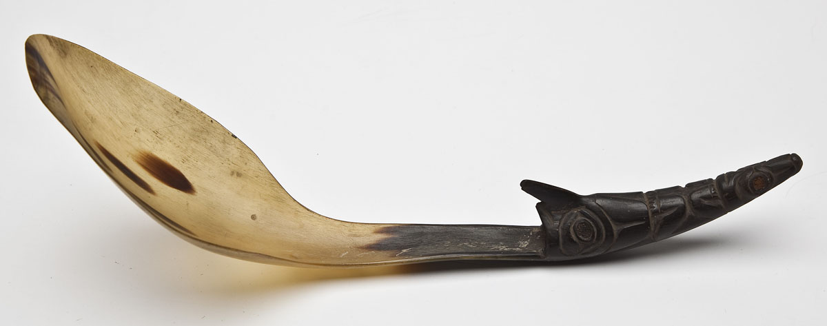 Northwest Coast Carved Spoon ($900)