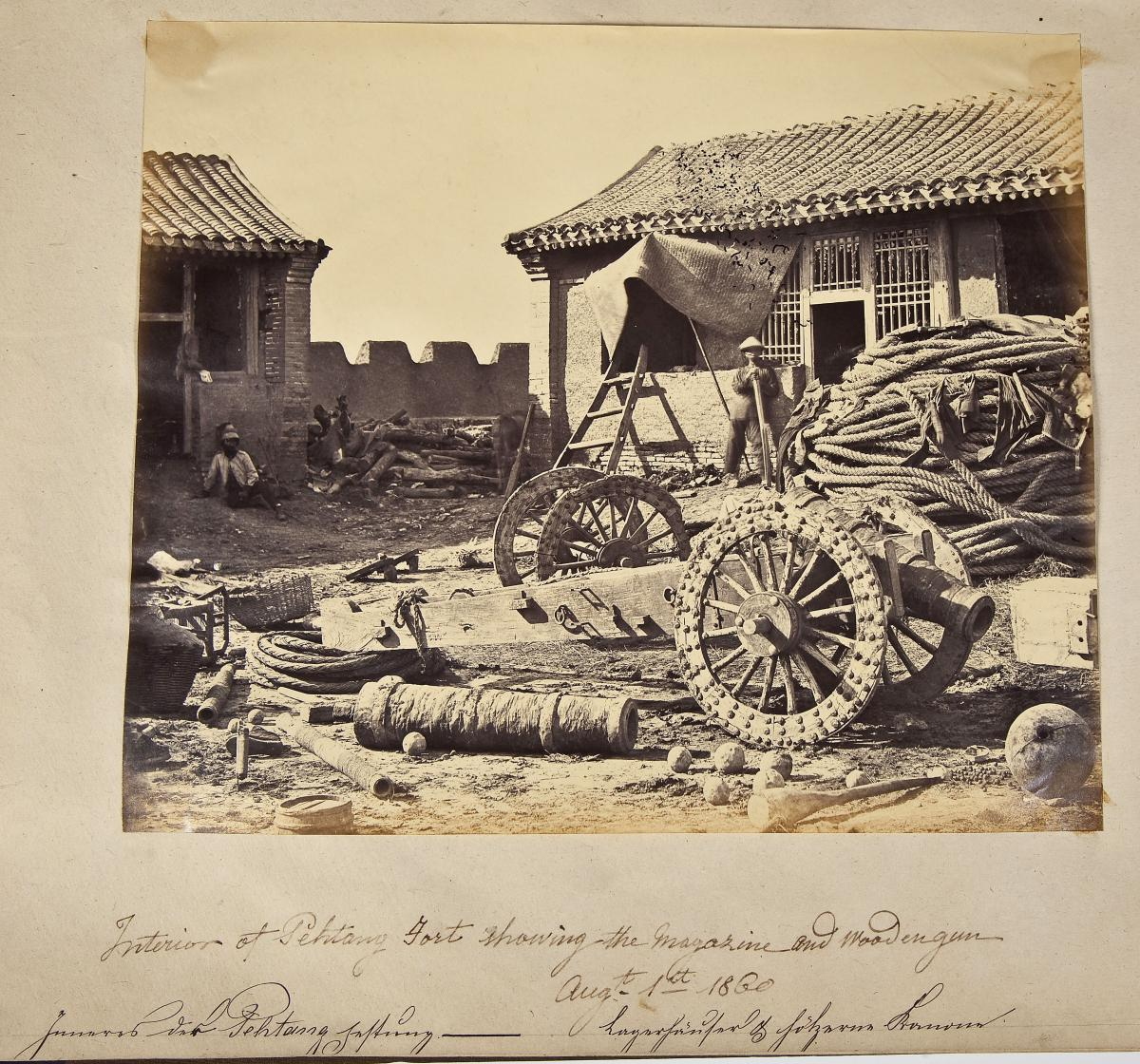 Pehtang Fort August 1, 1860