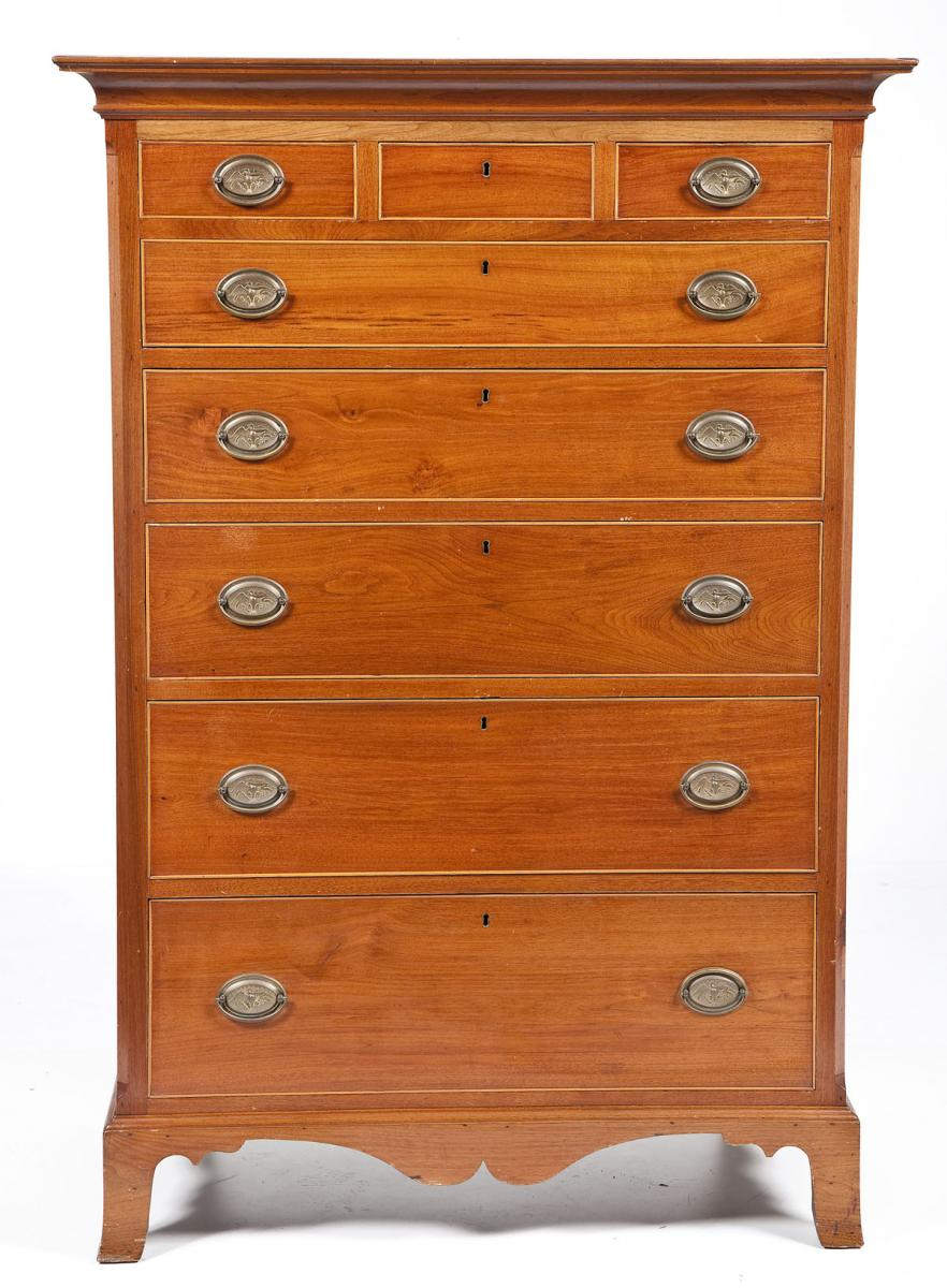 Pennsylvania High Case of Drawers ($1,000-2,000)