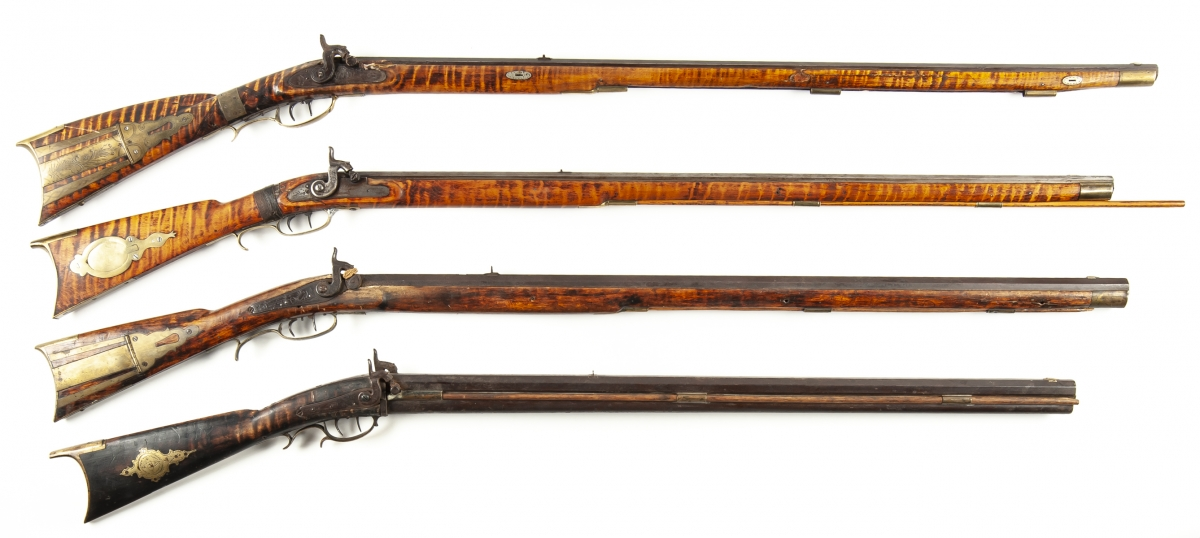 Perry and Lancaster Rifles