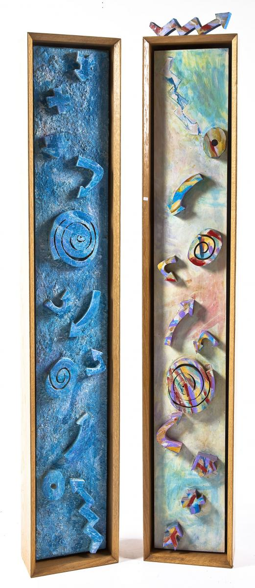 Totems, Florence Putterman (American, b. 1927)($1,500-3000)