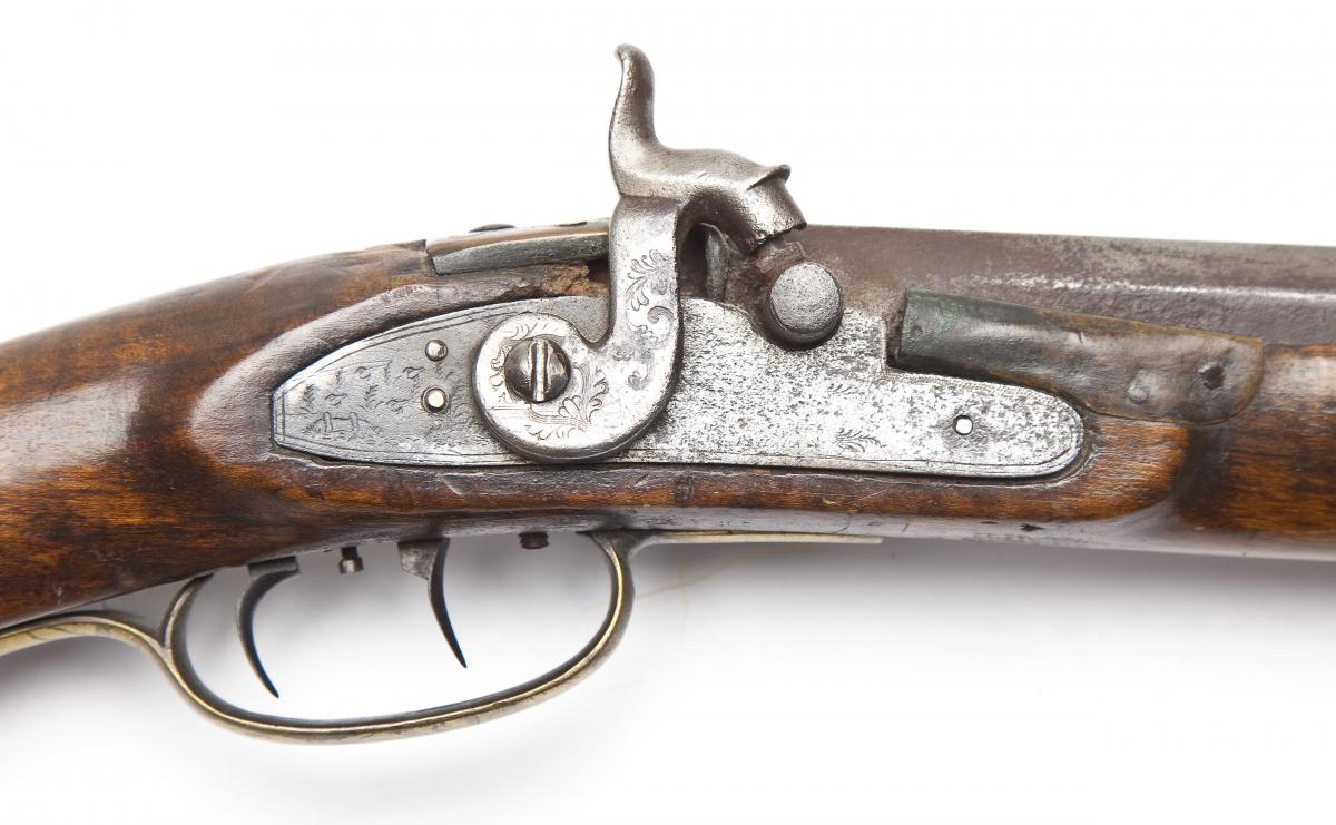 W. Sweger Kentucky Rifle, Perry County ($1,000-2,000)