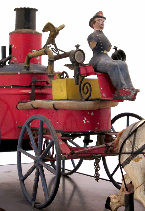 Antique Fire Pumper